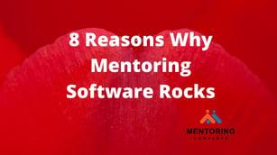 8 Reasons Why Mentoring Software Rocks
