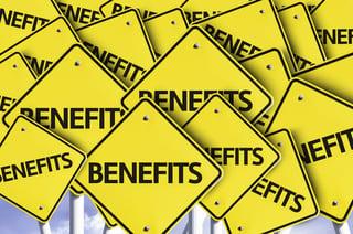 Benefits written on multiple road sign.jpeg