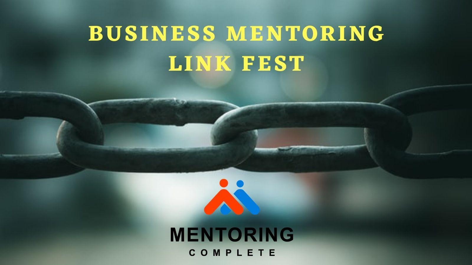 Business Mentoring Link Fest