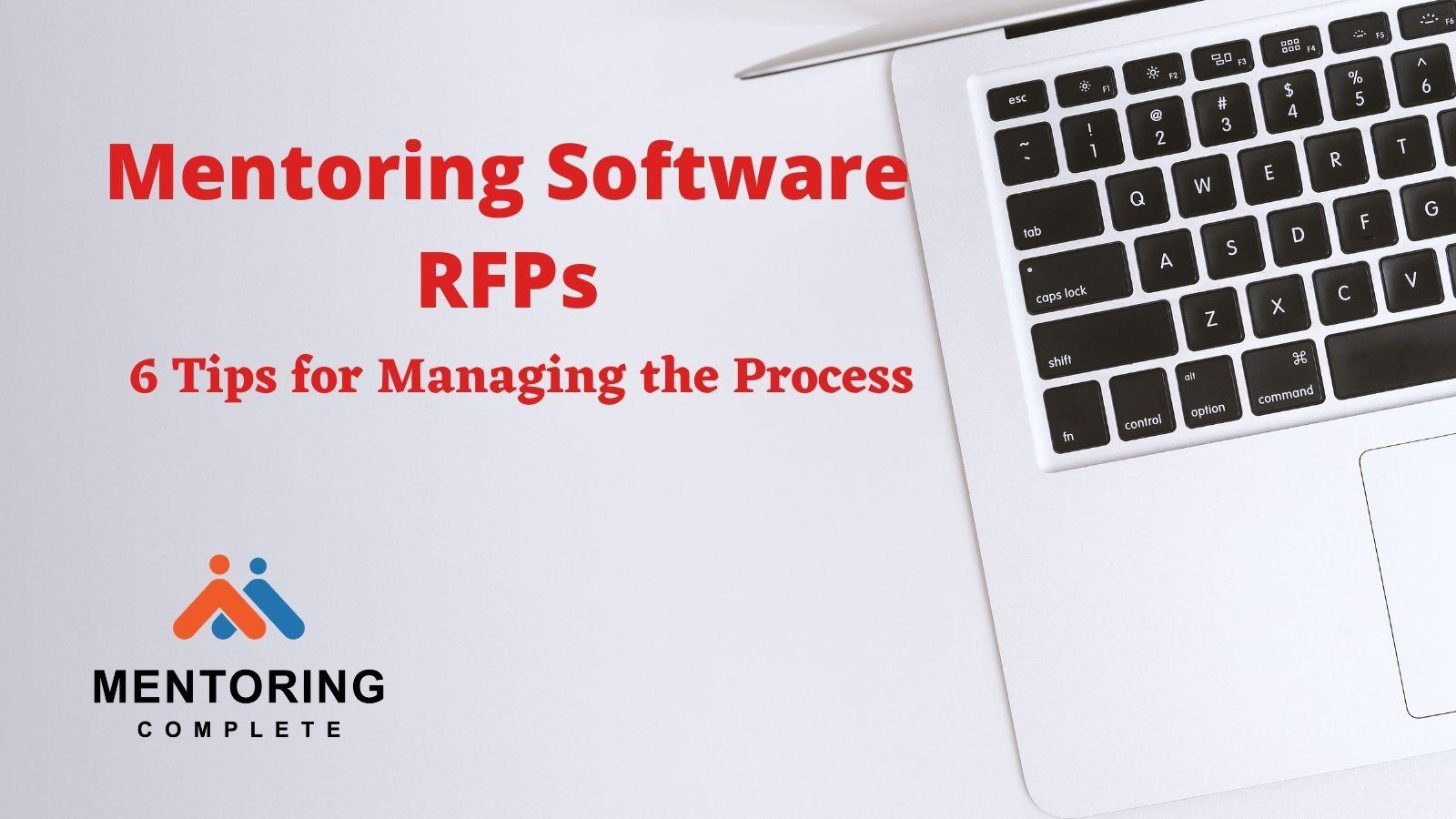 Mentoring Software RFPs