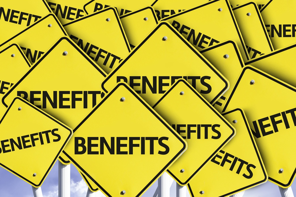 Benefits written on multiple road sign.jpeg