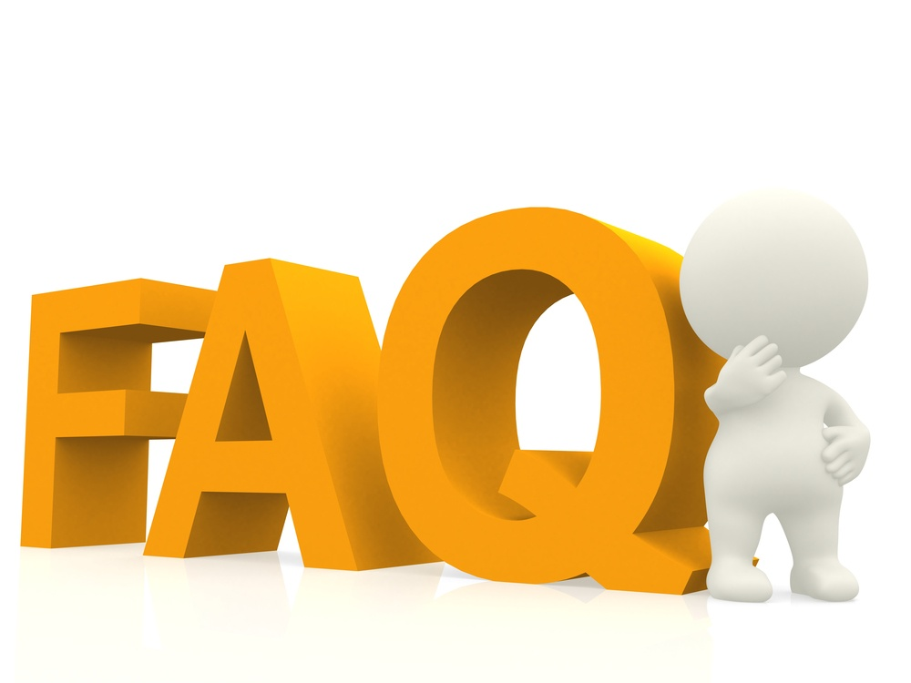 Inquisitive 3D man with a FAQ text - isolated over white.jpeg