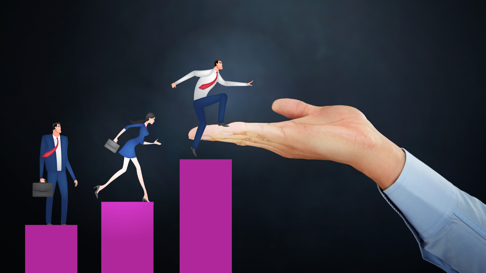Benefits of mentoring on career development