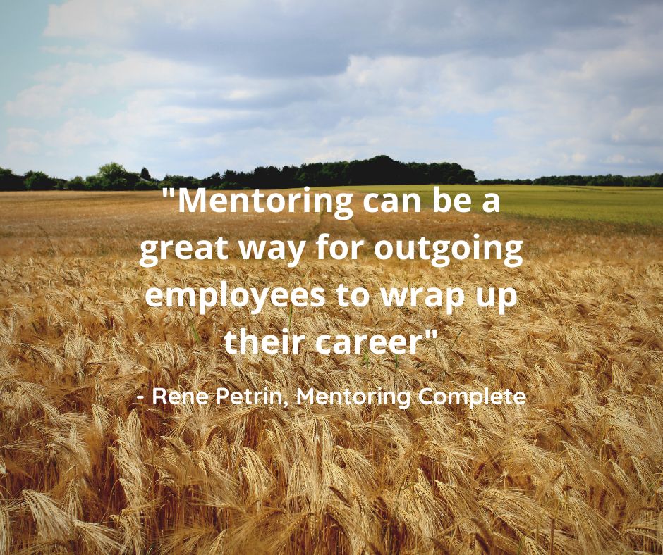 Business Mentoring aids in succession planning