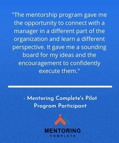 Mentoring Program Success Story